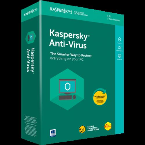 Kaspersky Anti-Virus 1+1 User 2018