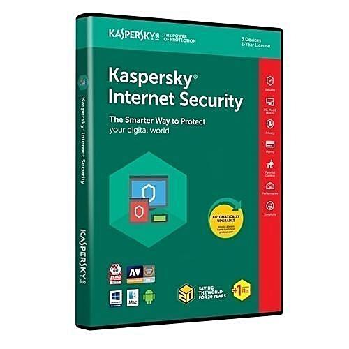 Kaspersky Internet Security 3+1 User 2018